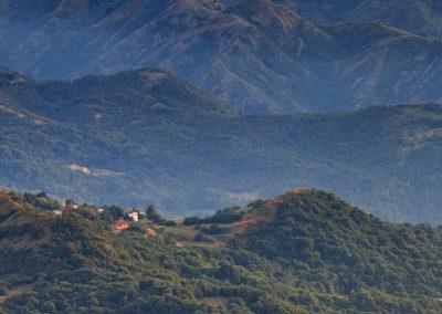 Ausblick von der Cappella-Monte-Alpe-di-Porale
