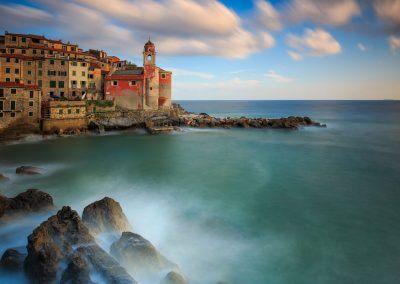 Langzeitbelichtung Tellaro-Ligurien