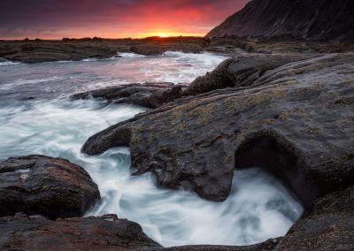 Nordspanien Mutriku Sonnenaufgang