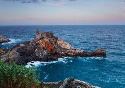 Sonnenaufgang Portovenere Ligurien