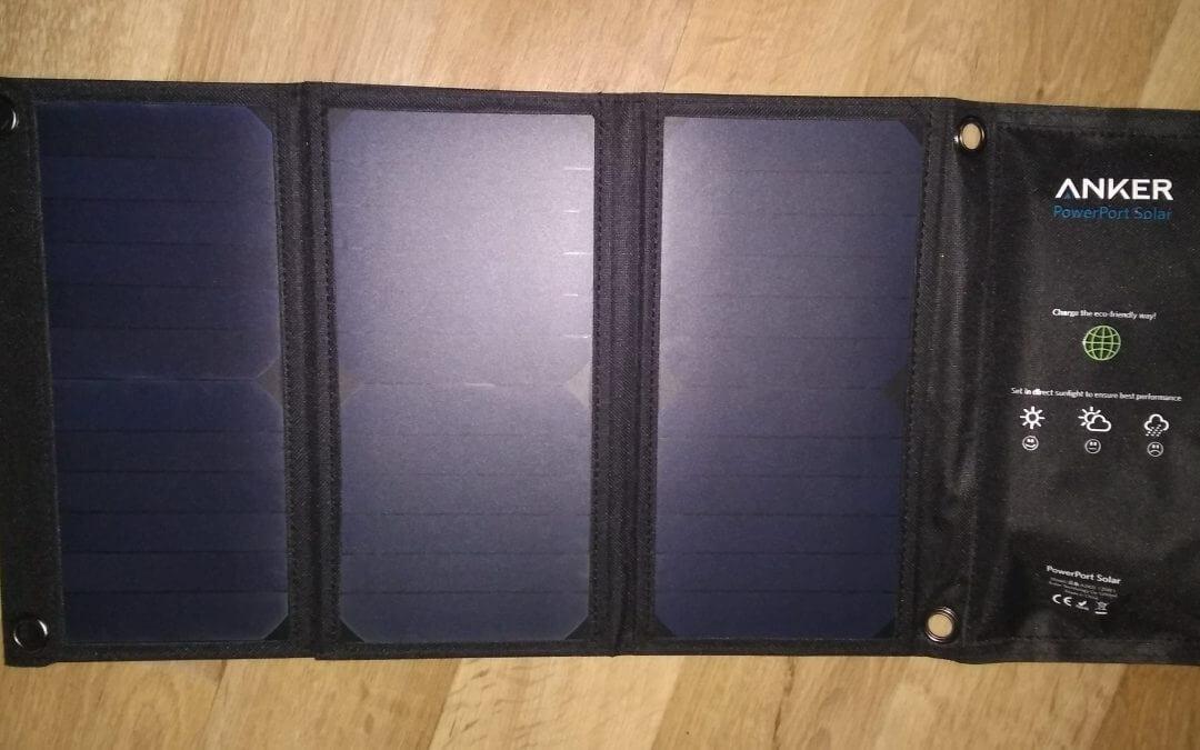 Testbericht  – Anker PowerPort Solar Ladegerät