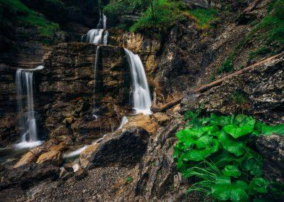 Kufluchtwasserfall-Garmisch Partenkirchen