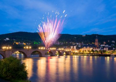 Heidelberg in Flammen