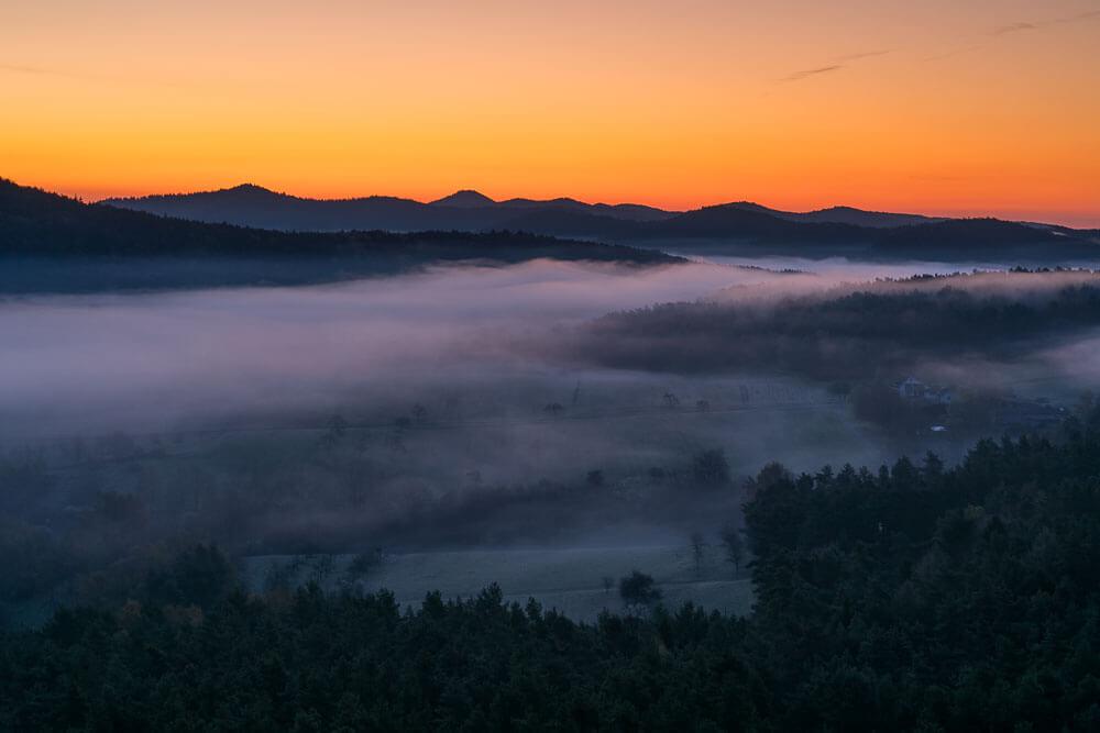 Ein Morgen auf dem Drachenfels!